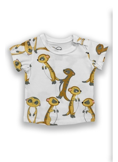 By Leyal For Kids Tişört Beyaz